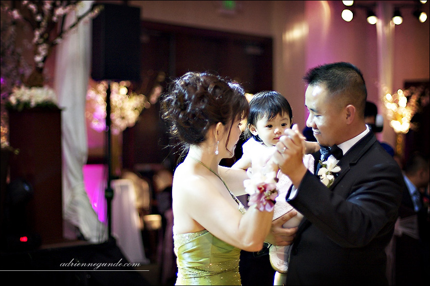 san gabriel hilton wedding picture