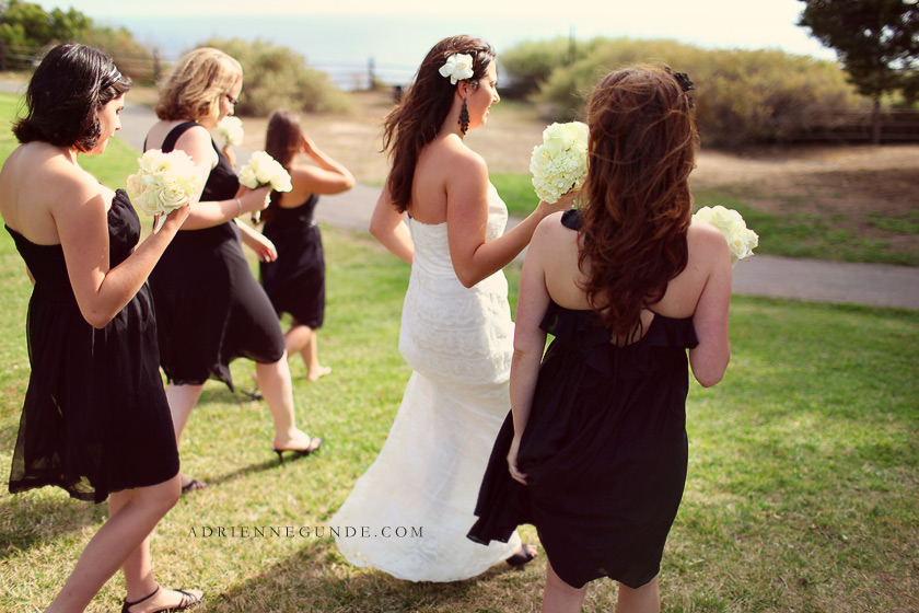 pointe vicente wedding picture