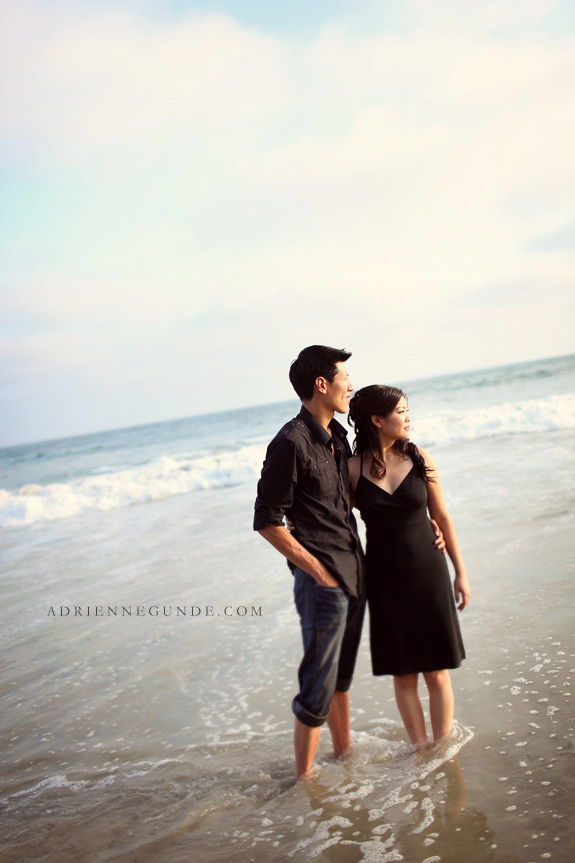 laguna beach engagement picture
