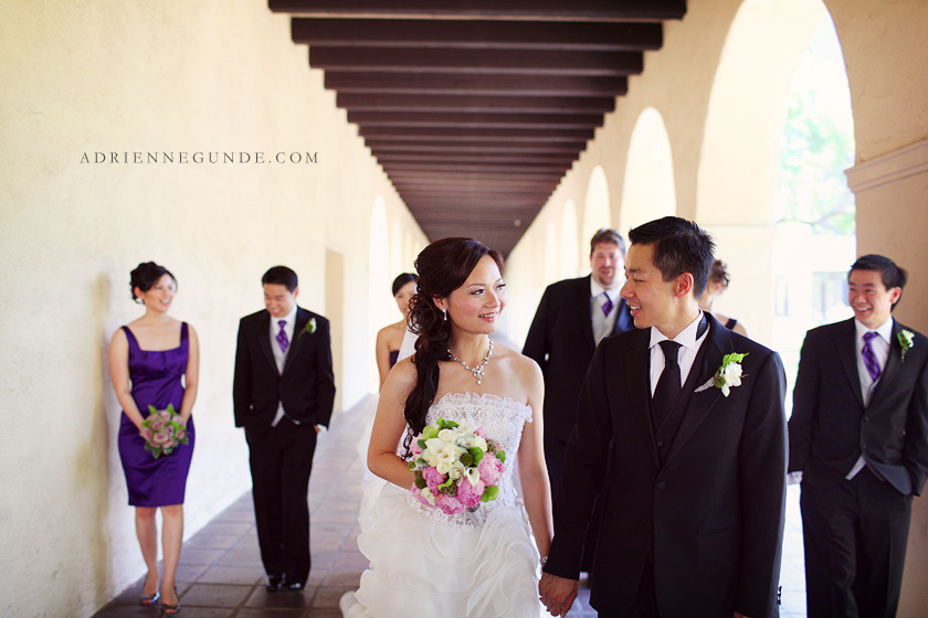 cal tech wedding