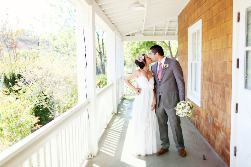 strawberry farms wedding photo