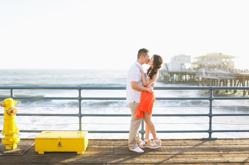 santa monica engagement photos (19)