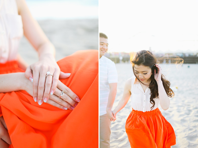 santa monica engagement photos